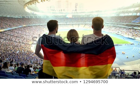 Male German football supporter Stock photo © photography33