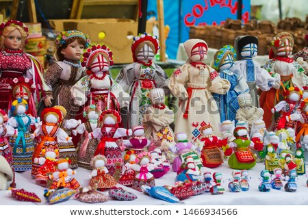 Ukrainian Cossack toy dolls Stock photo © m_pavlov