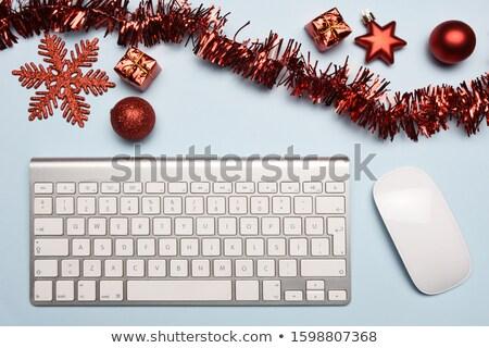 presentes · saco · colorido · natal - foto stock © sandralise