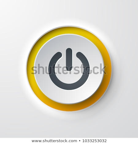 Foto stock: power button