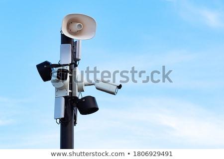 kameralar · kentsel · bölge · mavi · gökyüzü · şehir - stok fotoğraf © 5xinc