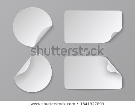 Label изображение кнопки можете размер потеря Сток-фото © bagiuiani