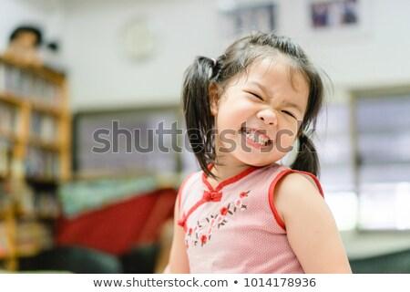 Growing Happy, Growing Healthy Teeth Stock photo © ozgur