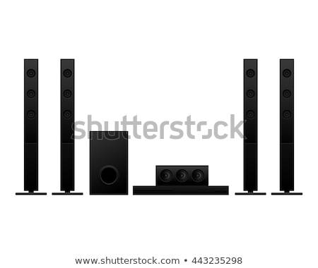 home theater isolated on white Stock photo © ozaiachin