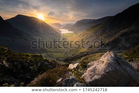 sunset crags Stock photo © Paha_L