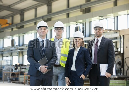 Portrait of a team of tradesmen Stock photo © photography33