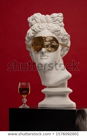 allegoric stone male statue stock photo © photosebia