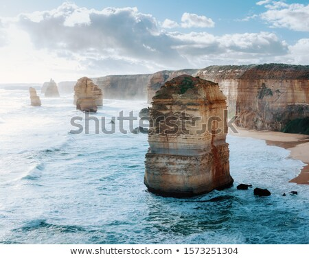Australian coastline with golden beaches Stock photo © jrstock