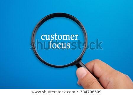 Lupa queixa palavra escrito ícone balança Foto stock © tashatuvango