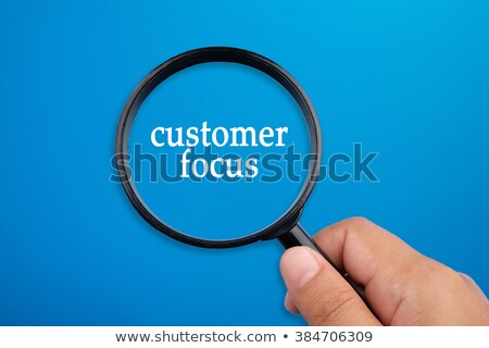 magnifying glass with complaint concept stock photo © tashatuvango