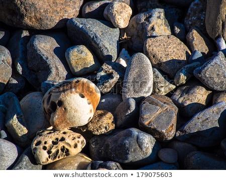 Playa piedra Japón Asia naturaleza Foto stock © shihina