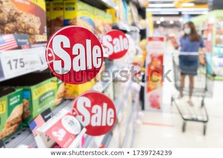 cajón · etiqueta · comercialización · oficina · metal - foto stock © tashatuvango
