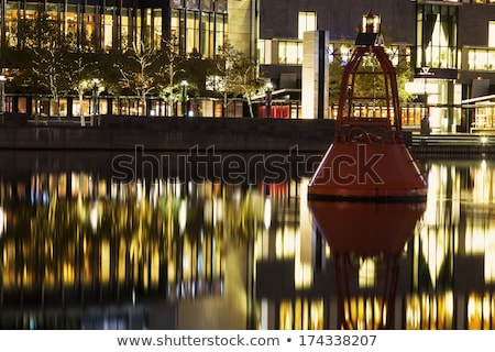 Faro río centro de la ciudad Melbourne Australia Foto stock © benkrut