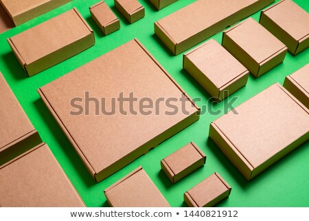 brown box with copy space for shipping Stock photo © FrameAngel