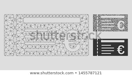 Modell közzététel különböző tárgyak felirat levél Stock fotó © cwzahner