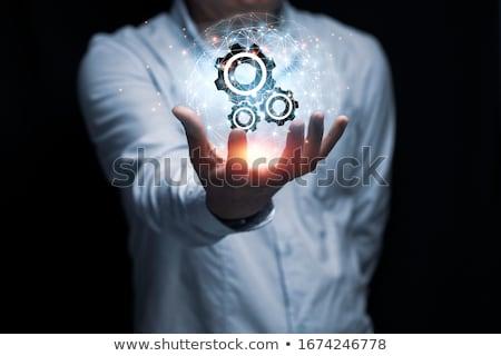 uitrusting · beheer · metaal · versnellingen · mechanisme · dienst - stockfoto © tashatuvango