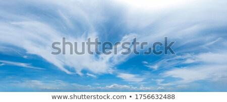Cielo azul verano brillante caliente cielo sol Foto stock © teerawit