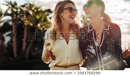 моде жизни красивая женщина Сток-фото © meltem