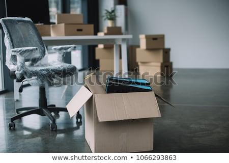 Business weg gebroken stukken nieuwe Stockfoto © Lightsource