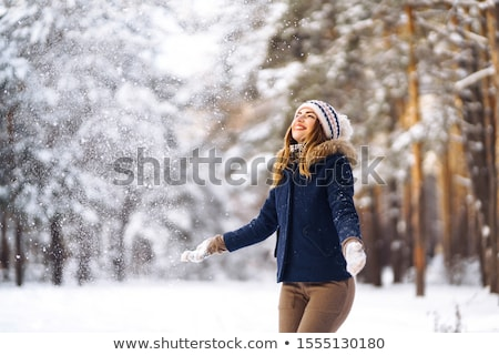 vreugde · gelukkig · vrouw · dag - stockfoto © fotorobs