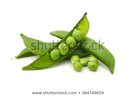 Zöldbab hó zöldborsó étel zöld friss Stock fotó © Digifoodstock