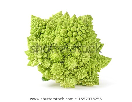 Brokoli yalıtılmış beyaz yeşil bitki Stok fotoğraf © OleksandrO