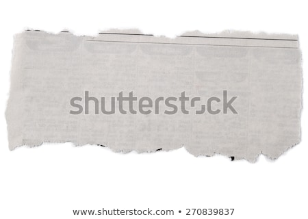 Cutting out from newspapers Stock photo © simply