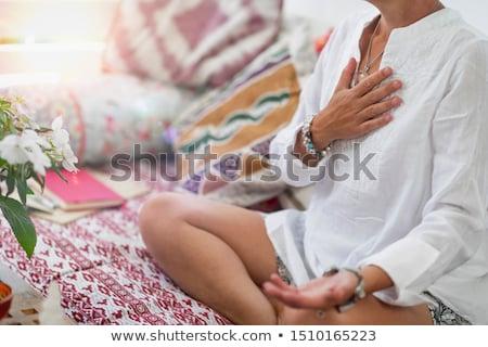духовность · поклонения · символ · человека · Top · горные - Сток-фото © kentoh