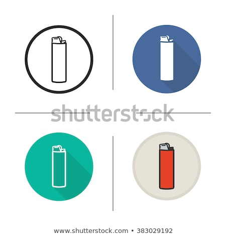 Rounded icon with lighters Stock photo © bluering