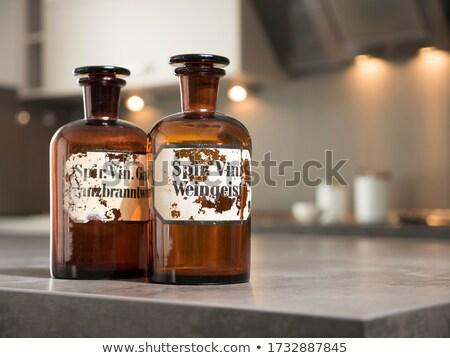 Vintage medicine bottle  Stock photo © OleksandrO