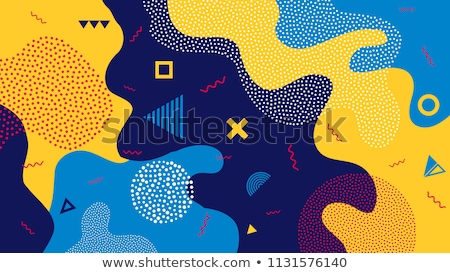 Seamless background design with colorful splash Stock photo © bluering