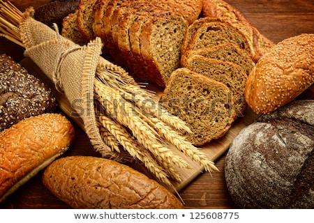 Frescos pan alimentos grupo saludable naturales Foto stock © dotshock