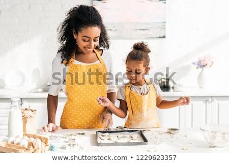 cookie baking Stock photo © LianeM