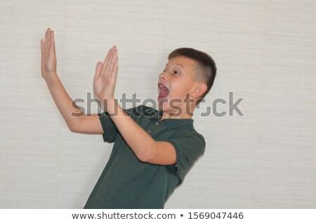 Sevimli erkek beyaz çocuk üzücü Stok fotoğraf © wavebreak_media