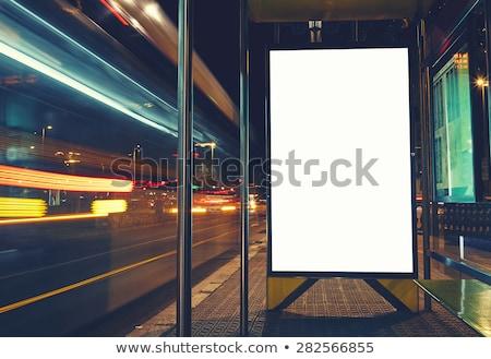 Pubblicità città cartellone poster copia spazio urbana Foto d'archivio © stevanovicigor