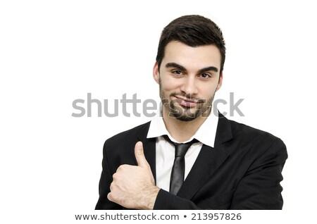 Rövid haj üzletember szett különböző üzlet pénz Stock fotó © toyotoyo