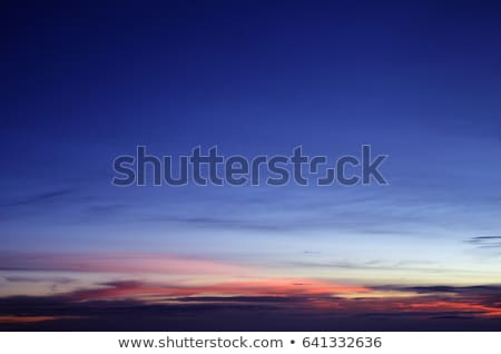Piękna nieba scena ilustracja sztuki przestrzeni Zdjęcia stock © bluering