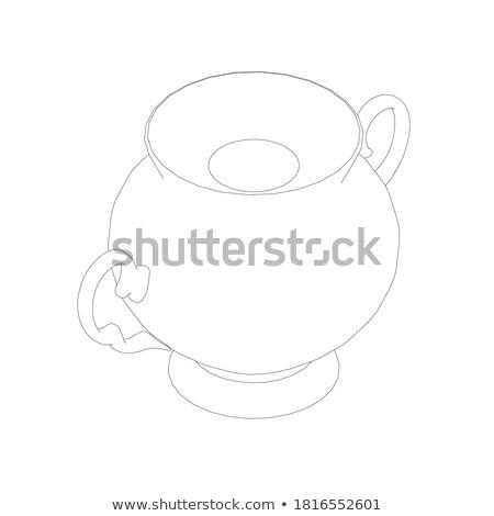 cozinha · comida · processador · ilustração · vetor - foto stock © netkov1