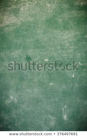 Dahi inek öğrenci bo tahta yeşil tahta Stok fotoğraf © lunamarina