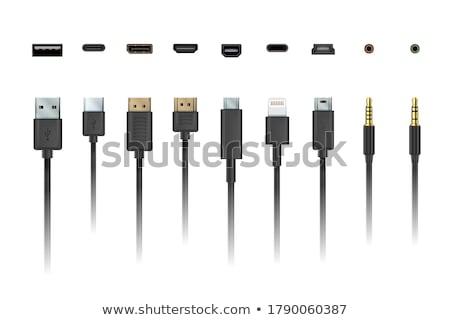 usb · тип · Plug · гнездо · компьютер · аппаратных - Сток-фото © pikepicture