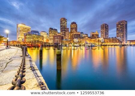 центра Бостон лет утра свет Сток-фото © jsnover