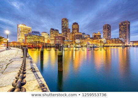 downtown boston waterfront stock photo © jsnover