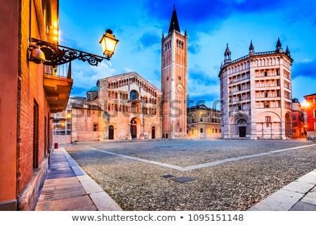 Baptistery of Parma, Italy Stock photo © borisb17