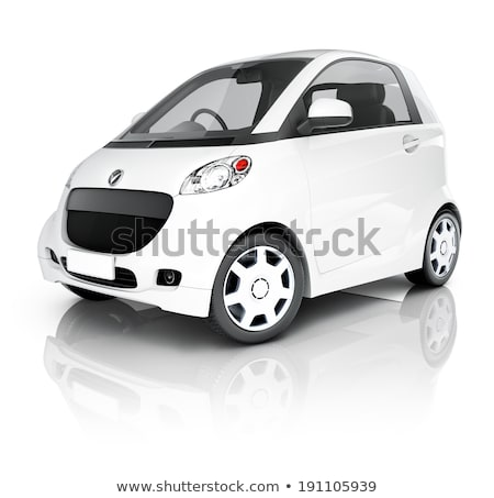 Ecologically Friendly Transport, Isolated Car Stock photo © robuart