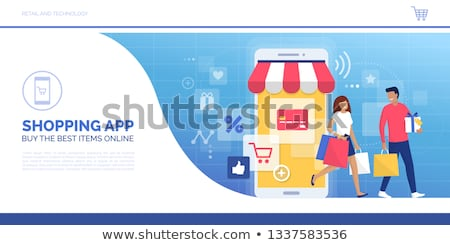 Electronics Store Sale Shopping Shop with Offers Stock photo © robuart