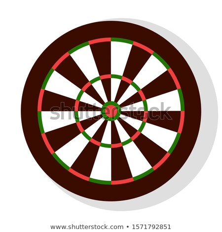 Aiming Circle Icon, Dartboard Sign, Party Vector Stock photo © robuart