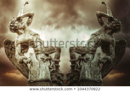 Fallen angel Stock photo © ensiferrum
