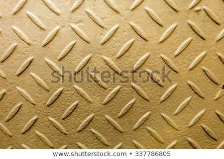 Amarillo metal rampa red superficial resumen Foto stock © Qingwa