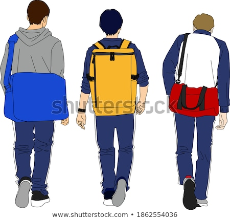 trio of male students Stock photo © photography33