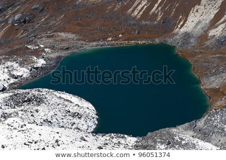 湖 しない 遠く 合格 ヒマラヤ山脈 旅行 ストックフォト © Arsgera